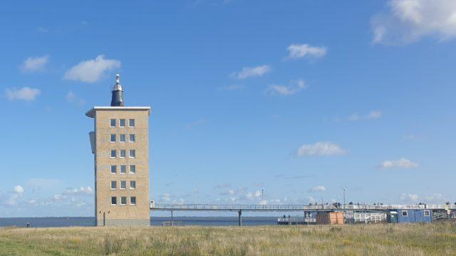 Radarturm Cuxhaven mit Aussichtsplattform Alte Liebe - Radarturm Cuxhaven