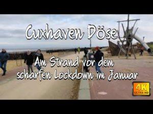 Einsam am Strand Cuxhaven Döse 2021