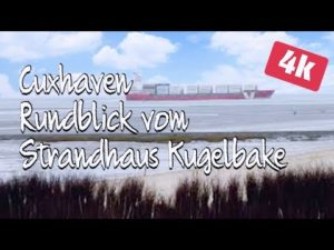 Strandhaus Kugelbake Rundblick zur Insel Neuwerk