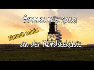 Dorum Wurster Nordseeküste mit dem Dorum Leuchtturm Obereversand
