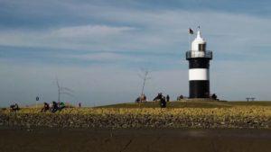 Kleiner Preuße in Wremen – Leuchtturm kleiner Preuße an der Nordsee