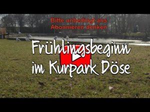 Kurpark Döse Cuxhaven – Frühlingsbeginn in Cuxhaven