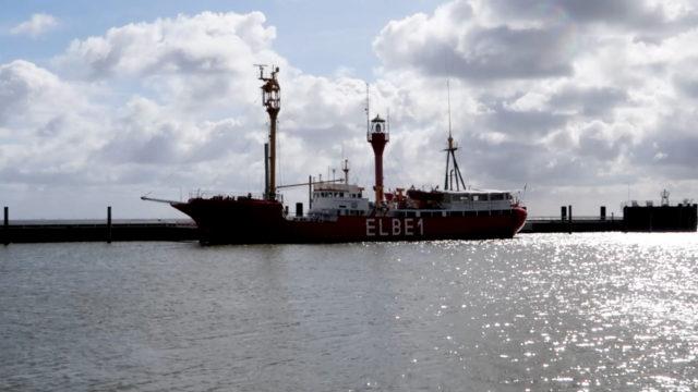 Elbe 1 Feuerschiff in Cuxhaven