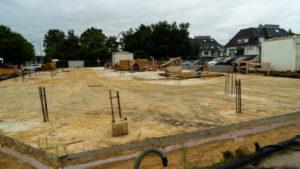 Bauprojekt Duhner Allee am Duhner Kreisel – Der Keller ist fertig