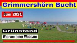 Grünstrand Cuxhaven Grimmershörn – Video Strand Grimmershörn Bucht