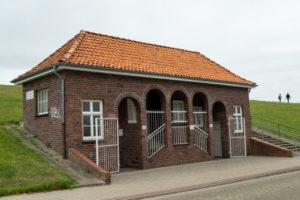 Denkmalgeschützte Bedürfnisanstalt Cuxhaven