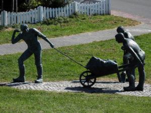 Deicharbeiter – Denkmal in Otterndorf